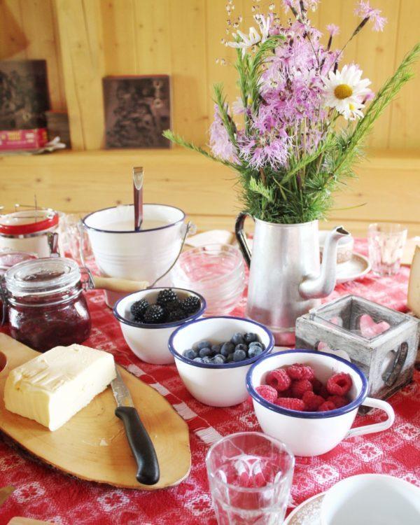 La colazione in Baita - Val di Fassa