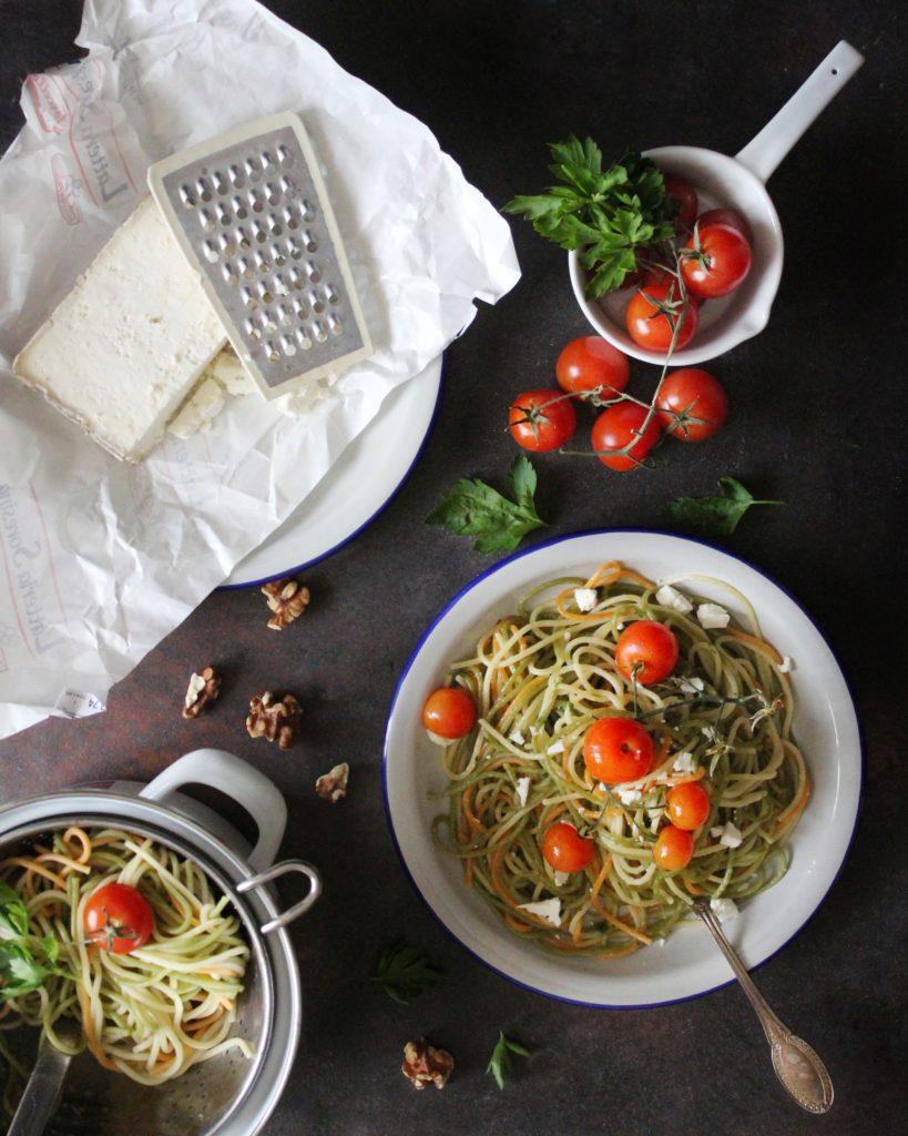 Salva Cremasco con Spaghetti