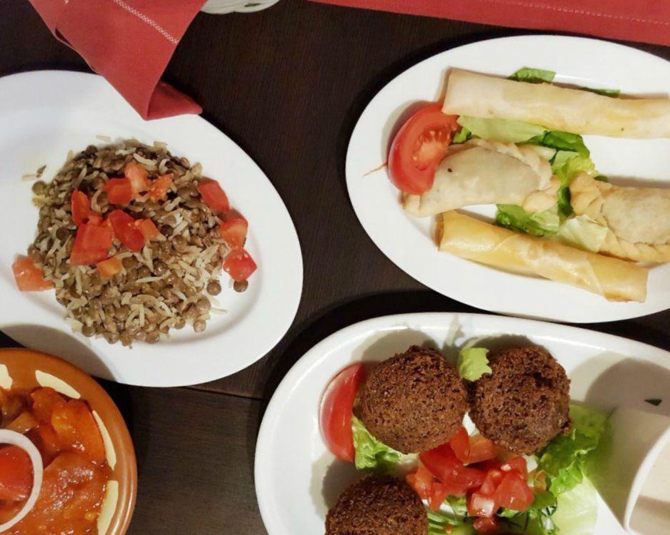 piatto libanese