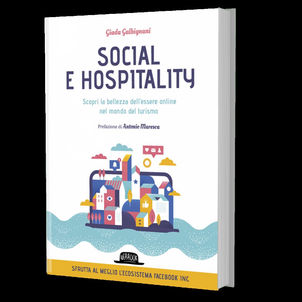 social e hospitality libro di giada galbignani